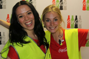 Hostesses Coca-Cola