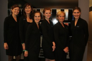 Hostesses stand RAI Amsterdam