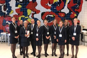 Hosts en Hostesses Registration World Forum