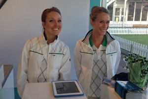 Hostesses KLM Open