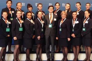 Gastvrouwen en Gastheren Europees Voorzitterschap Amsterdam