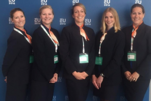 Hostesses Europees Voorzitterschap Amsterdam
