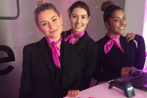 Hostesses Fokker Terminal Den Haag