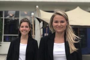 Social Distance Hostesses Hybride Event Fokker Terminal Den Haag